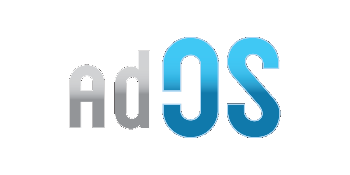 adOS Blue Logo